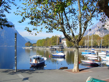 Lecco Stadt am Comer See