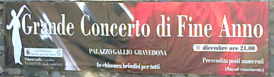 Silvester-Konzert Gravedona