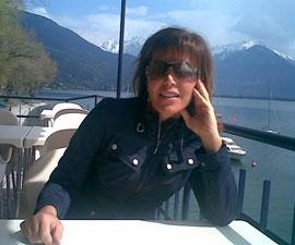 Ivana Vanli im Canottieri Domaso