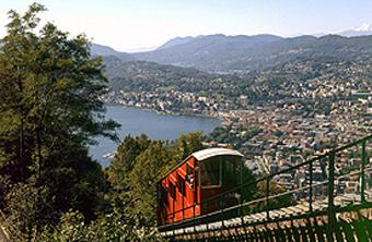 Standseilbahn Monte Bre - Comer See - Lago di Como ...