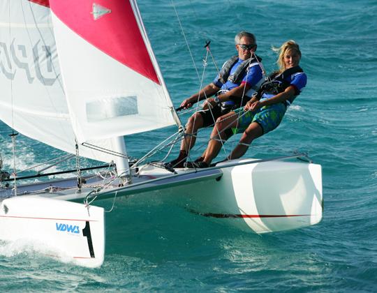 Katamaran segeln  Segeln und Katamaran