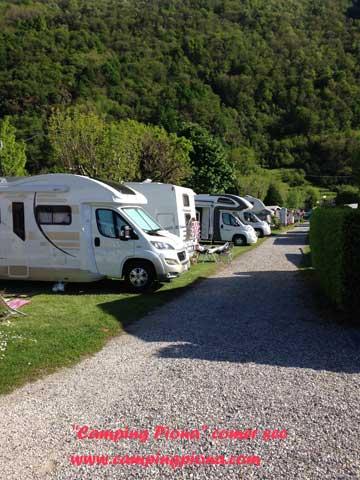Campingplätze am Comer See