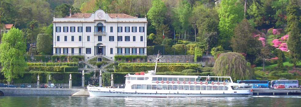 Villa Carlotta Tremezzo, die Diva der Villen am Comer See.