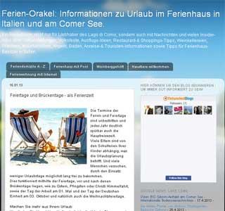 Ferien-Orakel Blog