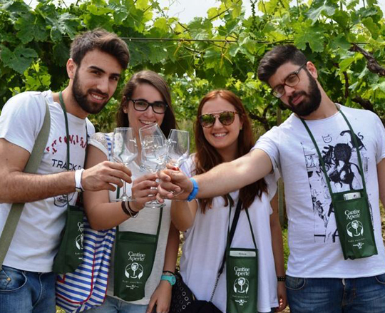 Cantine Aperte Weinfestival