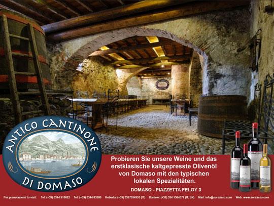 Antico Cantinone  in Domaso