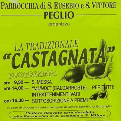 Castagnata Peglio