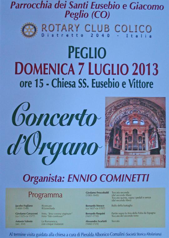 Orgelkonzert Kirche S.Eusebio