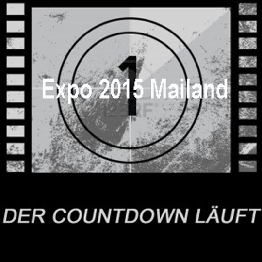 COUNTDOWN Expo 2015 läuft !!
