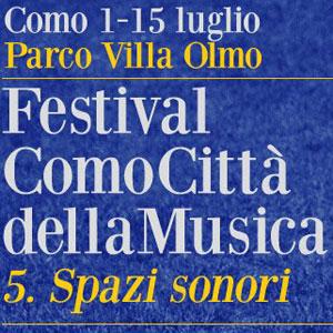 FESTIVAL COMOCITTA  Musikfestival