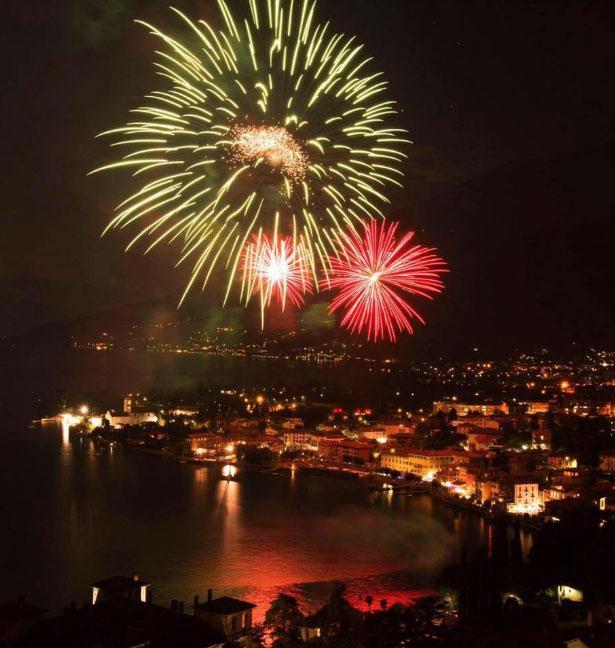 Festa di Ferragosto mit See-Feuerwerk