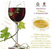 Grappolo d'Oro-Weinfest in Chiuro