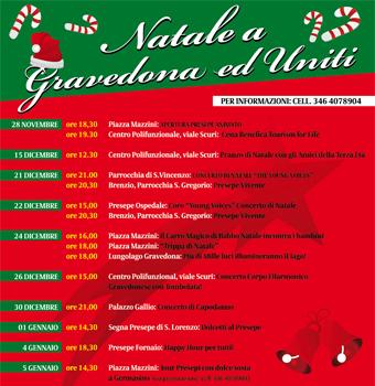 Weihnachtsbräuche Gravedona