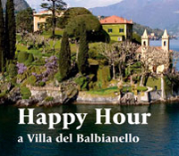 Happy Hour Villa Balbianello