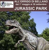 Jurassic Park  in der Orrido –Schlucht Bellano