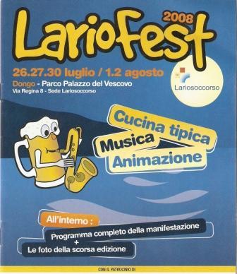 Lariofest 26.27.30.Juli  und 1.2.August