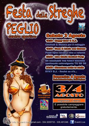 Grosser Dorffest in Peglio