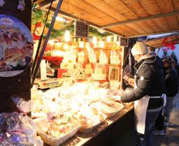 Weihnachtsmarkt Stadt Como