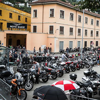 Internationales Motorradtreffen  Mandello del Lario