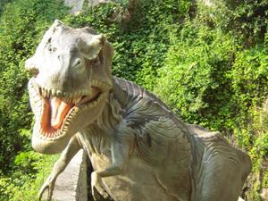 Dinosaurier–Ausstellung Orrido-Bellano