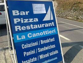 Neueröffnung Restaurant La Canottieri Domaso