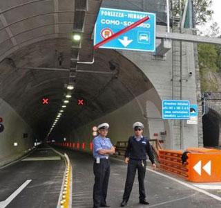 Tunnel von Valsolda jetzt offen