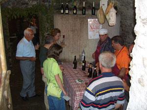 Weinfest in Vercana