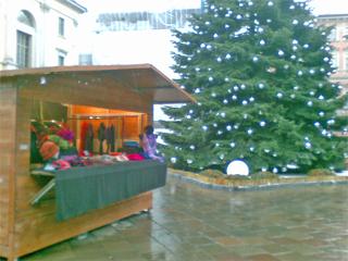 Weihnachtsmarkt in Lugano
