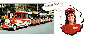 Ausflug nach Lugano und Rundfahrt mit dem Touristenzueglein