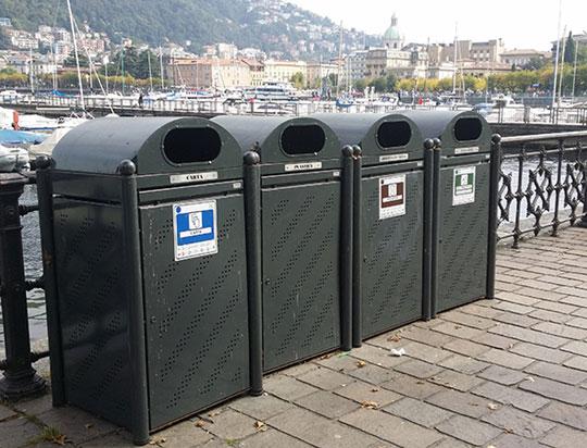 Abfallentsorgung / Müllentsorgung am Comer See