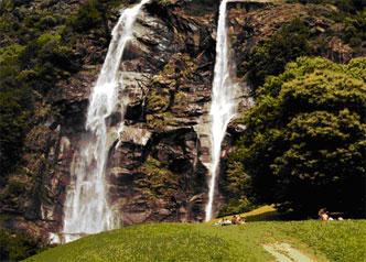 Acquafraggia Wasserfall
