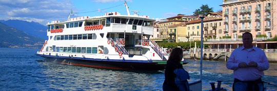 Autofähren Comer See -Traghetti