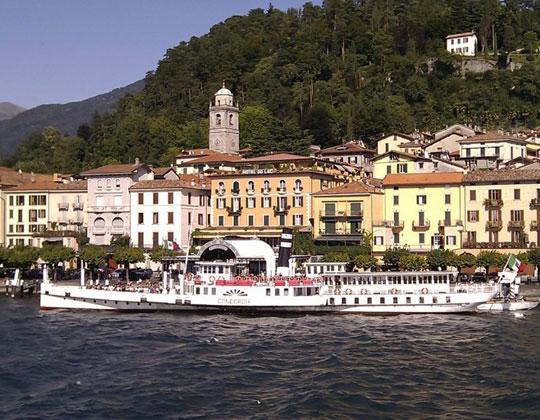 Schiffsausflug nach Belaggio