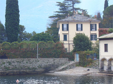 Villa Oleandra - Clooney`s Ferienvilla am Comer See