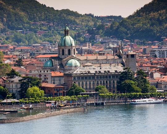 Schiffsausflug zur Provinzhauptstadt Como