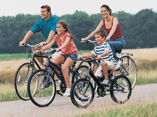 Fahrradverleih am Comer See
