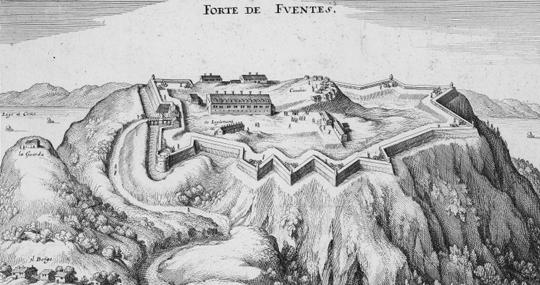 Forte Fuentes bei Colico