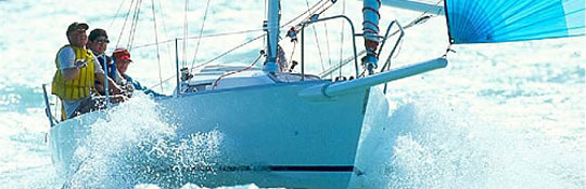 Segel-Törn auf dem Comersee mit Regatta-Schiff