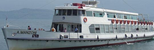 Navigazione del Lago di Como: Schiffsfahrpläne für Comer See