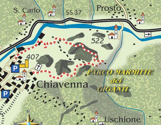 Marmitte dei Giganti Park Chiavenna