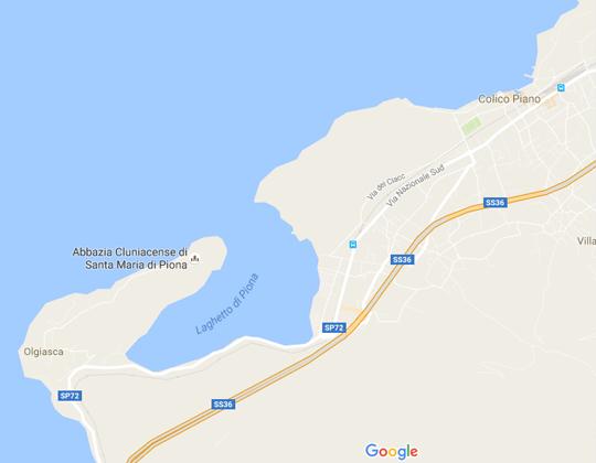 Colico Ortsplan / Stadtplan