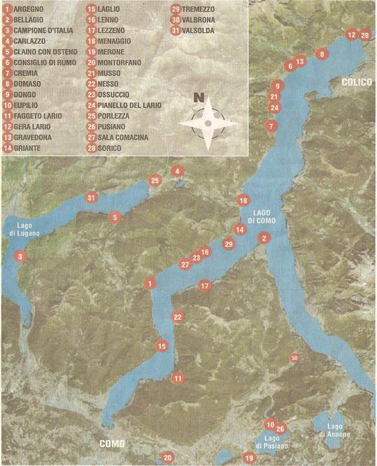 Wasserqualität am Comer See