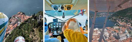 Rundflug / Sightseeing-Flug  ab Como
