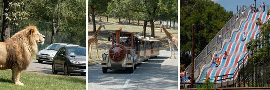Safari Park Pompia Italien: zwei große Parks ein kleiner Preis!