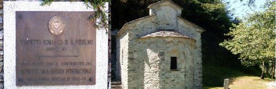 San Fedelino die Einsiedler-Kirche