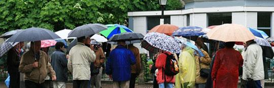 Wenn es einmal regnet - Ideen und Besichtigungstipps