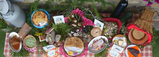 Typische Küche des Valchiavenna Tales