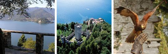 Castello di Vezio - Burg über Varenna
