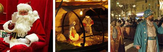 Weihnachten und  Neujahr am Comer See in Italien