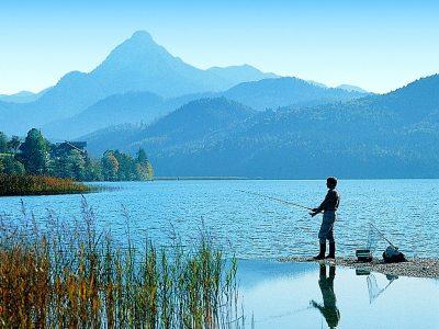 fishing lake como